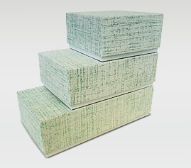 2 pc set up box rigid set up business card boxes riverside paper co green linen business card boxes reheart Gallery