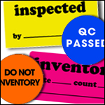 Inventory & Quality Control Labels