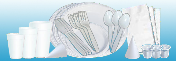 Lunchroom supplies & Lunch Room Supplies Plates Plastic Forks Plastic Spoons Plastic ...