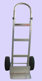 Aluminum Hand Trucks - Continuous Handle