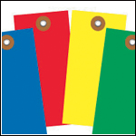 Color Tyvek Tags