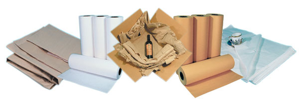 Kraft Paper, Newsprint packing paper, Tissue packing paper