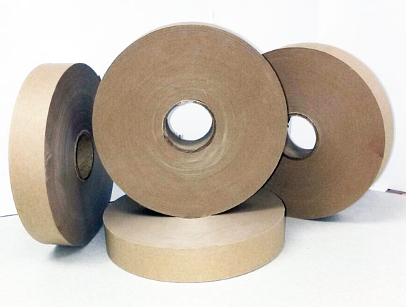 Kraft heat seal banding tape