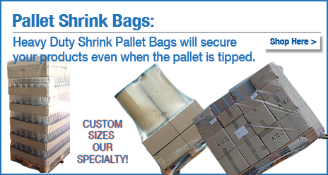 pallet shrink wrap bags