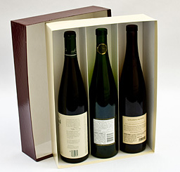 Garnet Wine Bottle Boxes Wine Boxes Heavy Weight Carboard Wine Boxes