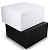 WHITE Collapsible Gift Box