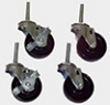 Carton Stand- Heavy Duty  Casters