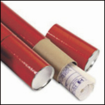 Red Telescopic Mailing Tube