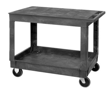 Flat Top Plastic Stock Cart