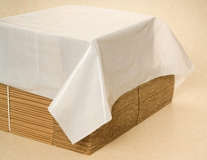 White poly Top Sheet