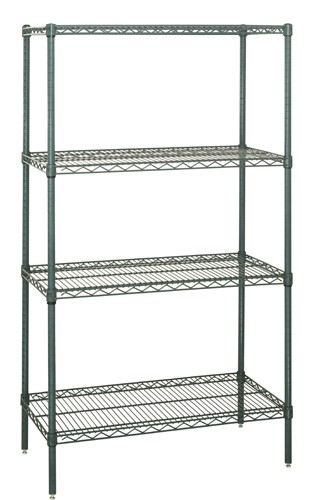 anti microbial wire shelving