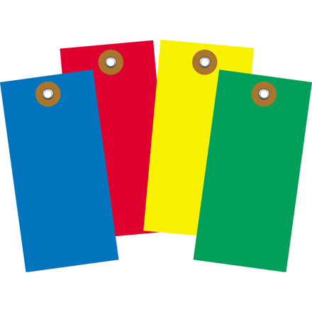 Plain Color Tyvek Tags