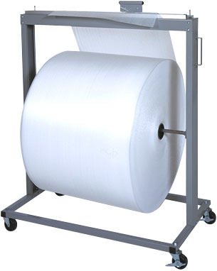 Heavy Duty roll stand with cutter