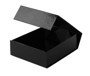BLACK Collapsible Gift Box