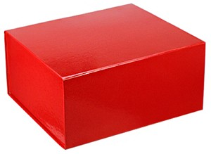 RED Collapsible Gift Box