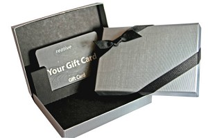 Gift Card Boxes - Tuxedo Line