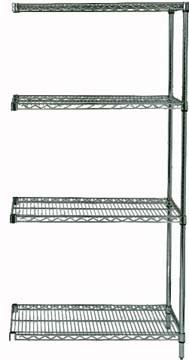 "74"" Proform Wire Shelving - 4- Shelves Add-On Unit"