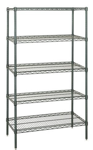 "54"" Proform Wire Shelving - 5 Shelves Starter Unit"