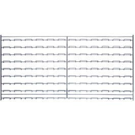 Wire Louvered Panels