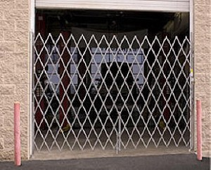 Galvanized Single Folding Security Gates